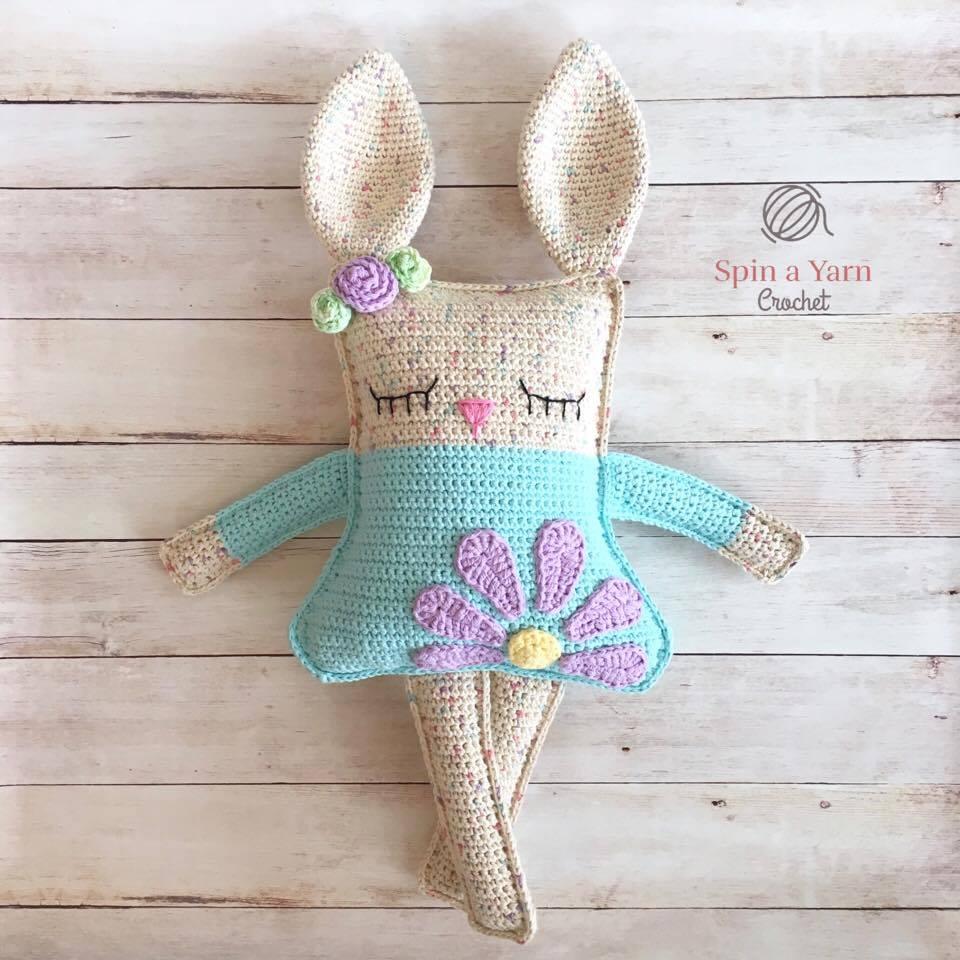 Ragdoll Spring Bunny Free Crochet Pattern Spin A Yarn
