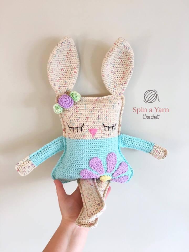 Ragdoll Spring Bunny Free Crochet Pattern Spin A Yarn Crochet
