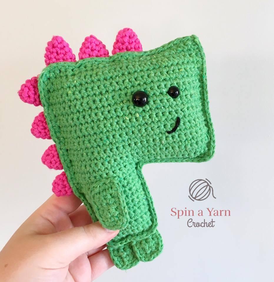 T-Rex Amigurumi - free crochet pattern by Kristel Koevenig ... | 960x931