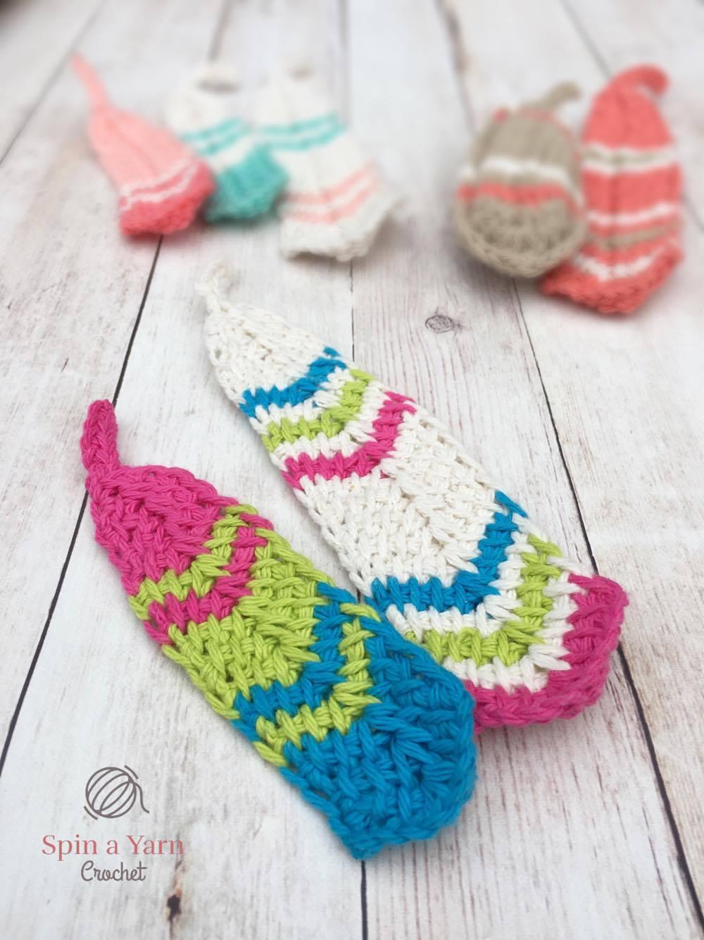 Tunisian Feathers Spin A Yarn Crochet