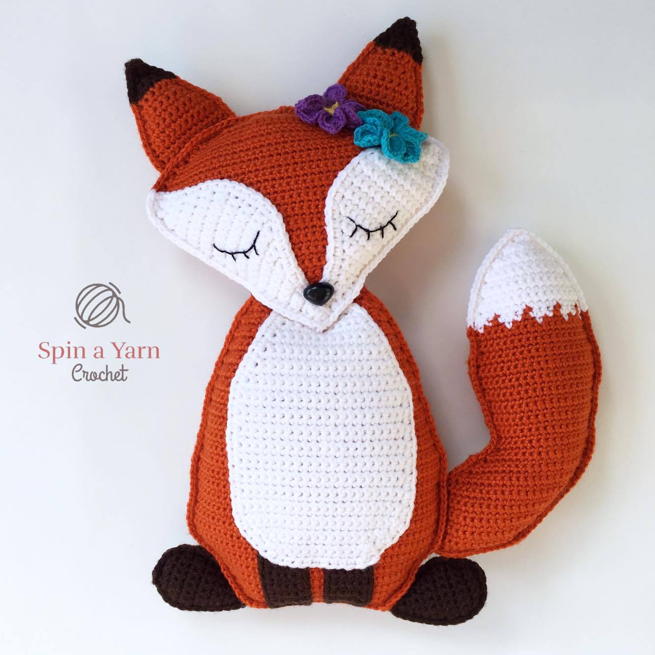Red Fox Amigurumi Crochet | Craft Designs by Eve Leder | 1334x1334