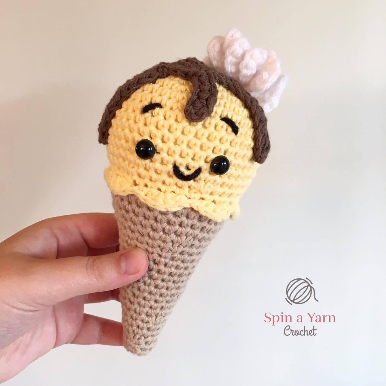 12 Adorable Amigurumi Ice Cream Crochet Patterns Are Super Fun ... | 1334x1333