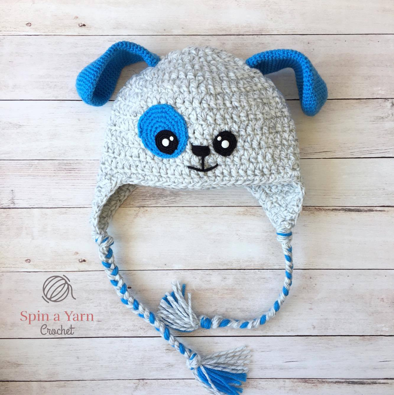 Puppy Hat Free Crochet Pattern Spin A Yarn Crochet