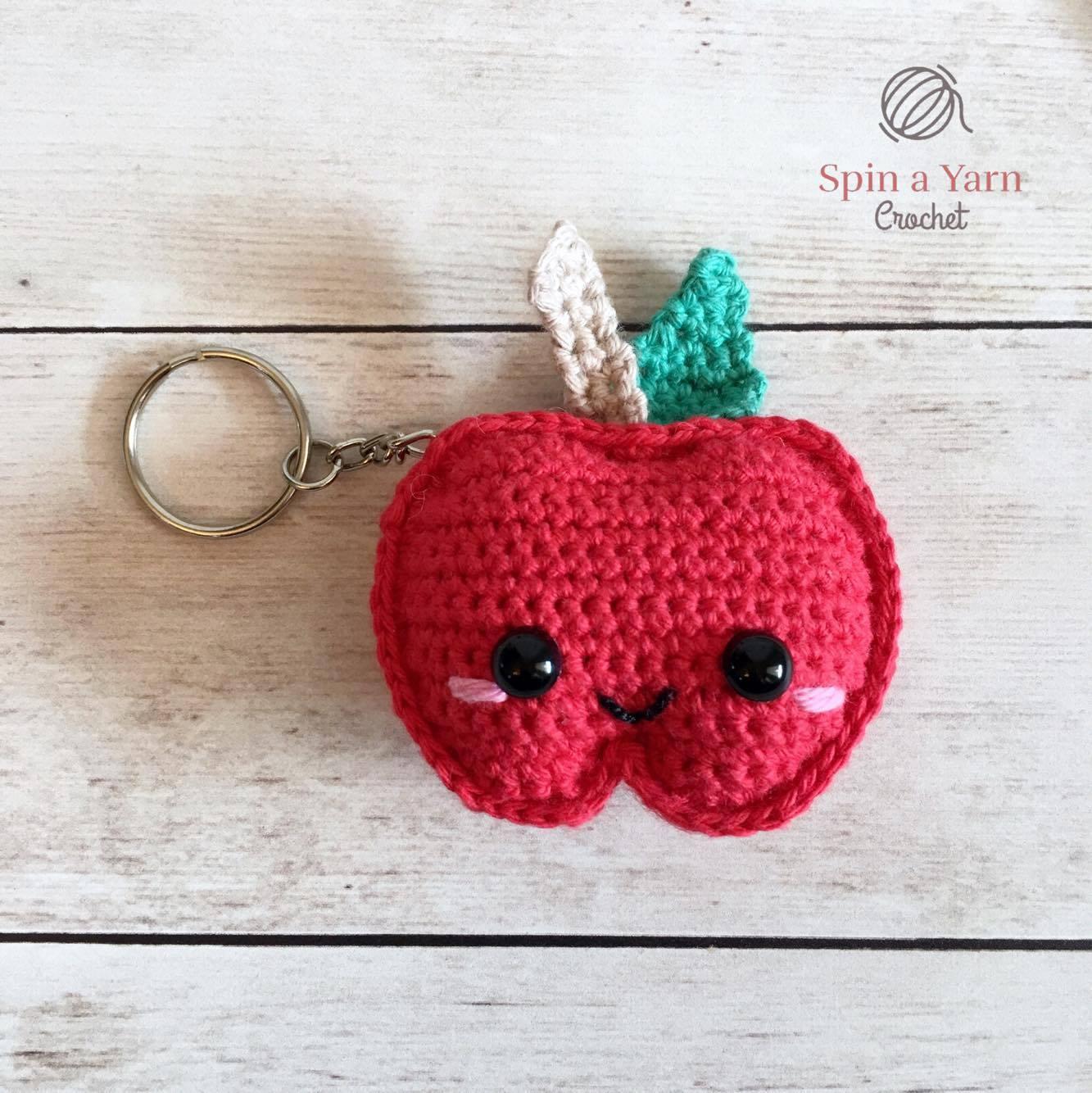 Cute and Fun Keychain Crochet Patterns Free | 1334x1333
