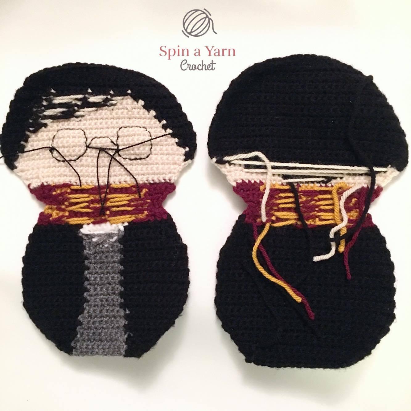 Amigurumi Harry Potter Free Pattern | Harry potter crochet, Harry ... | 1334x1333