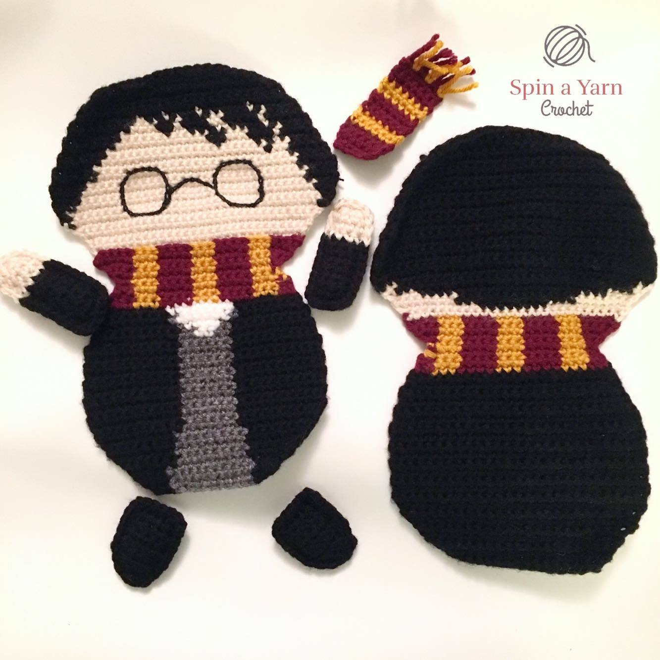 Ragdoll Harry Potter Free Crochet Pattern • Spin a Yarn Crochet | 1334x1333