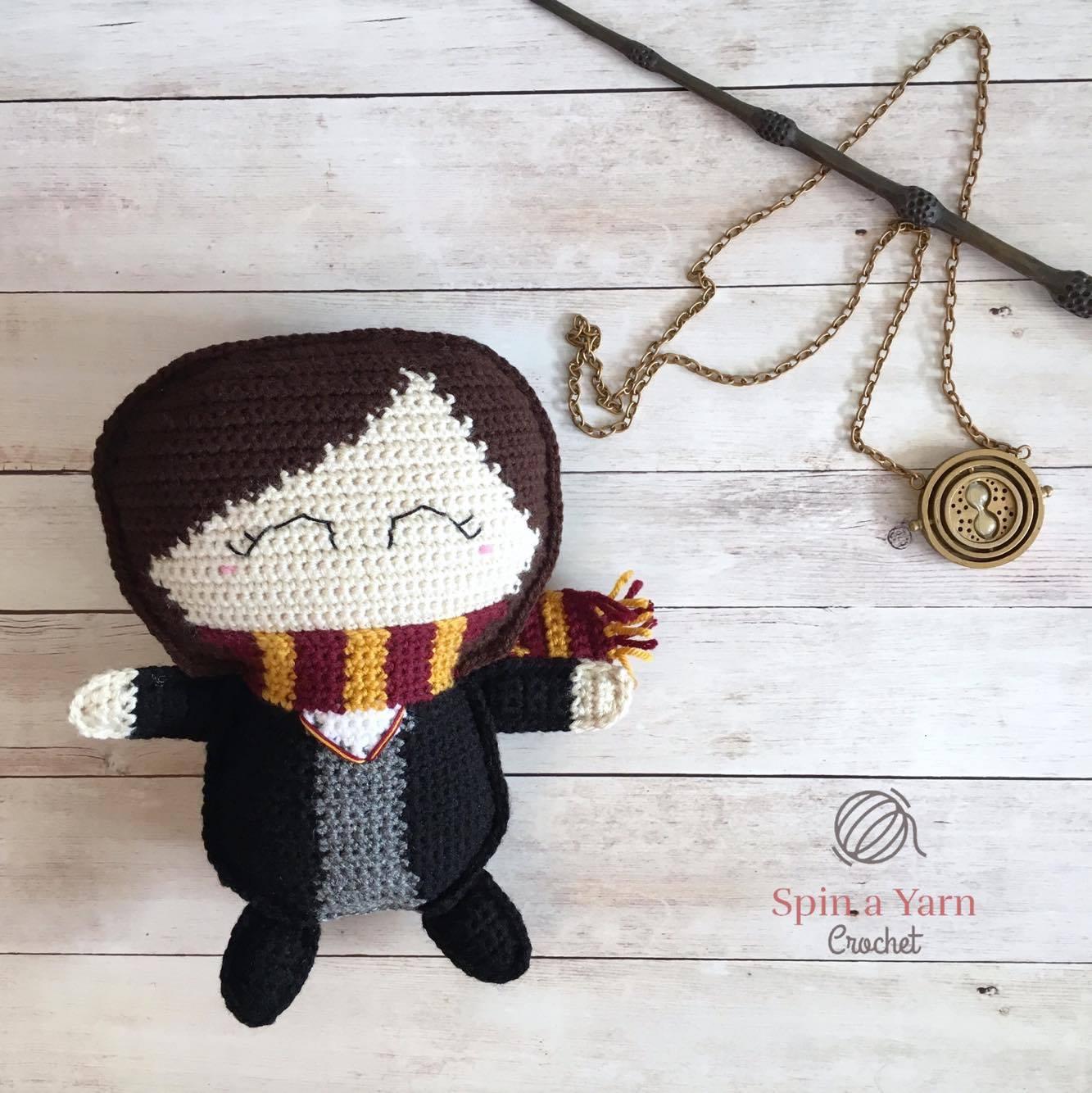 Ragdoll Hermione Granger Free Crochet Pattern • Spin a Yarn Crochet