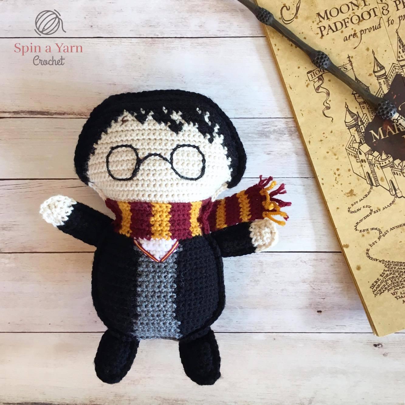 Ragdoll Harry Potter Free Crochet Pattern • Spin a Yarn ...