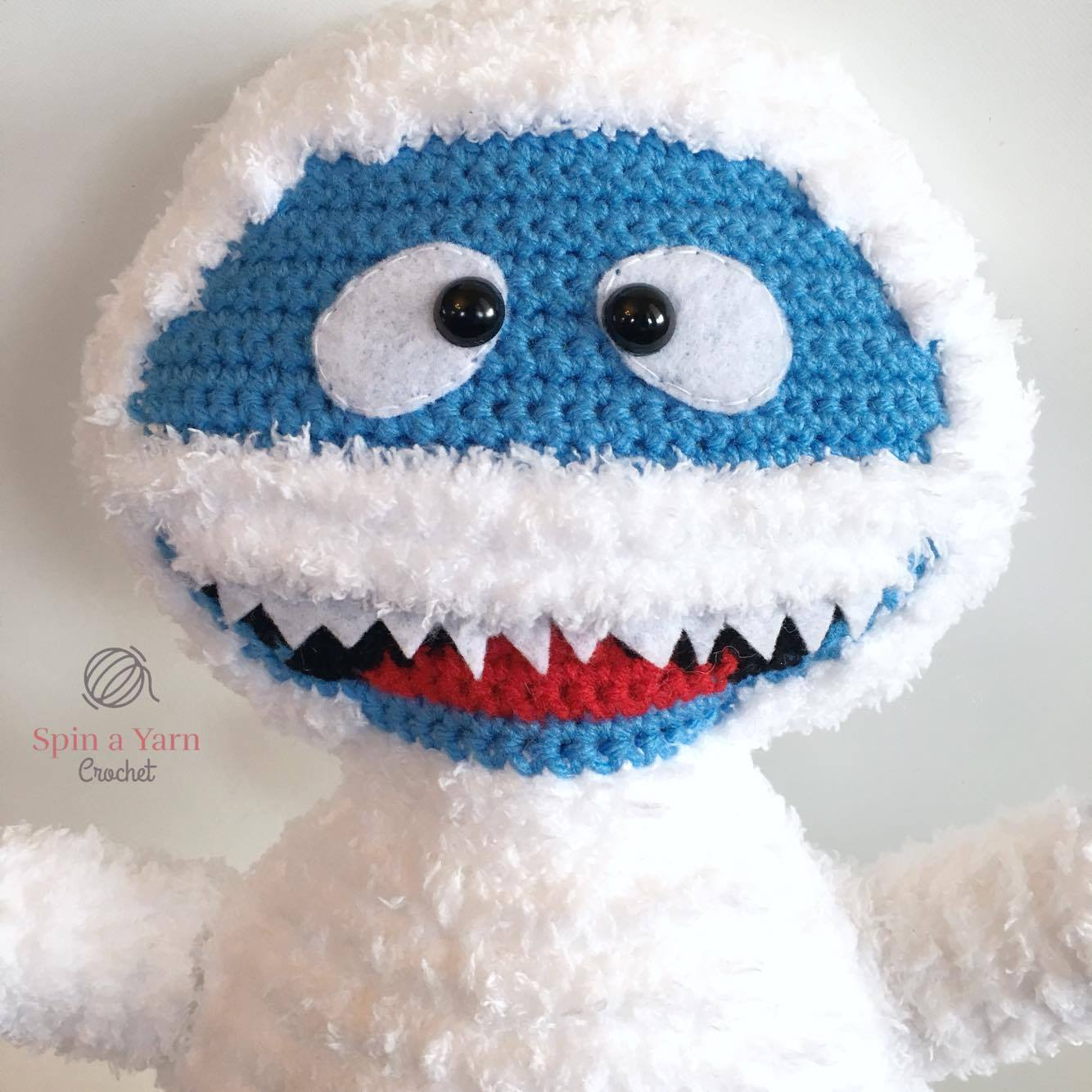 Bumble The Abominable Snowman Free Crochet Pattern Spin A Yarn Diagram Patterns Crocheted Love Copy Face
