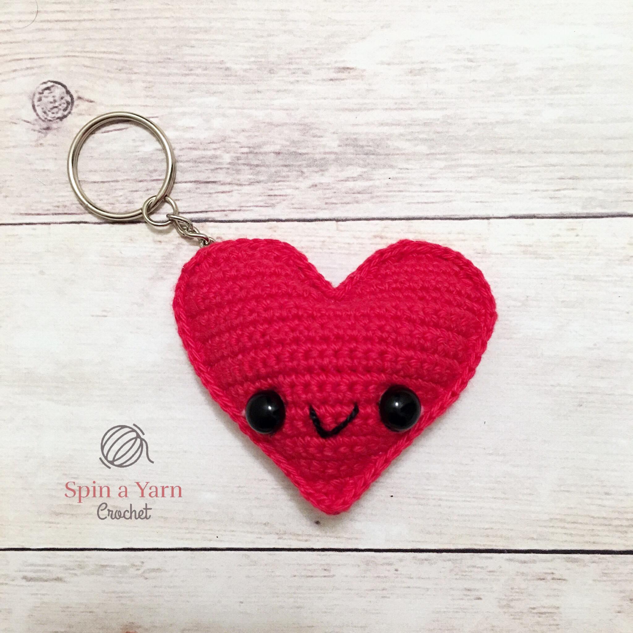 Crochet Bomb Kawaii Keychain FREE Pattern by Suzy Dias | 2048x2048