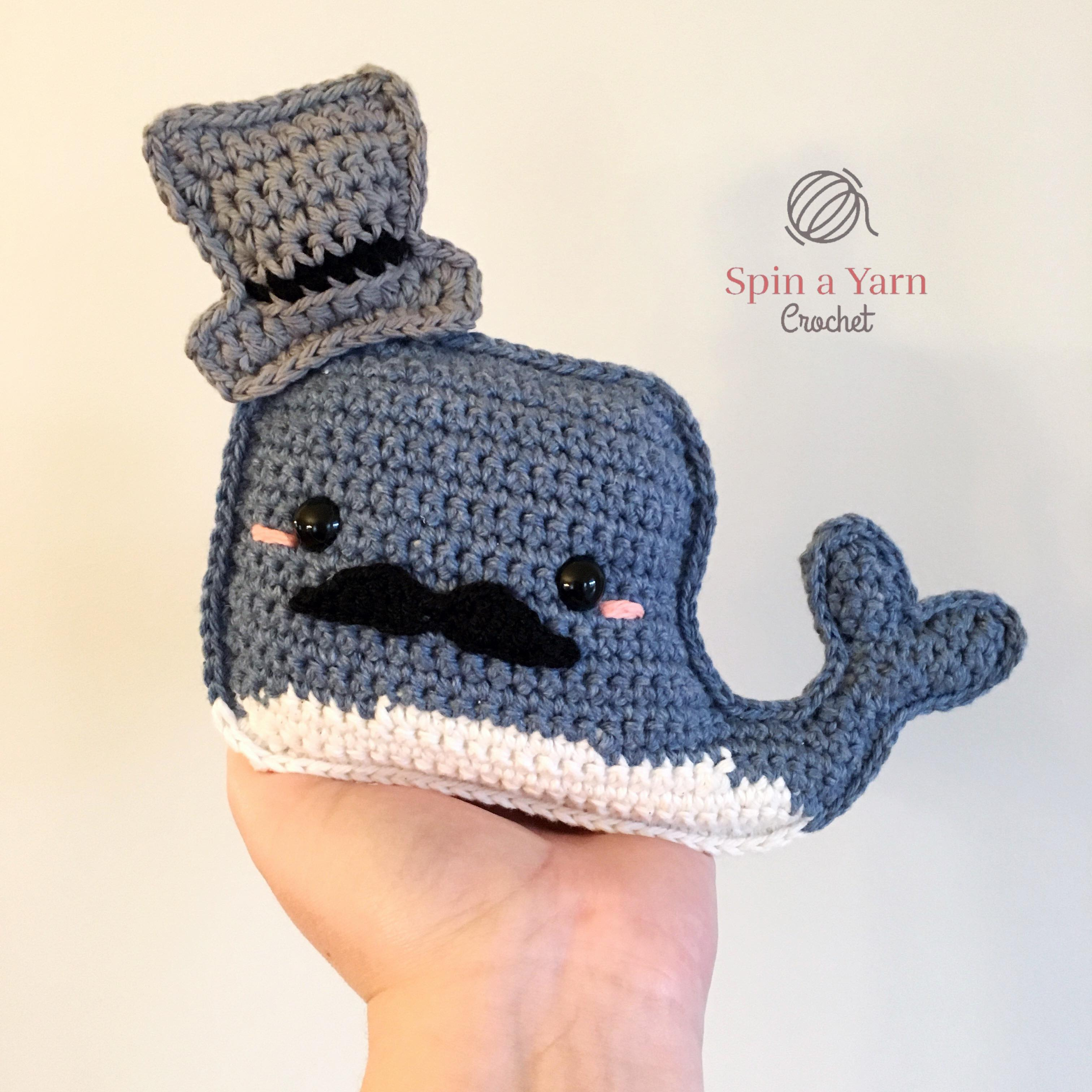 Tutorial Ballena Amigurumi Whale (English subtitles) - YouTube | 3024x3024
