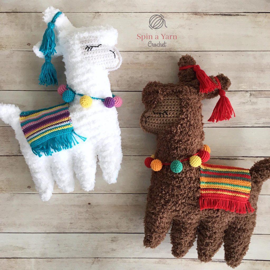Ragdoll Llama Free Crochet Pattern Spin A Yarn Crochet