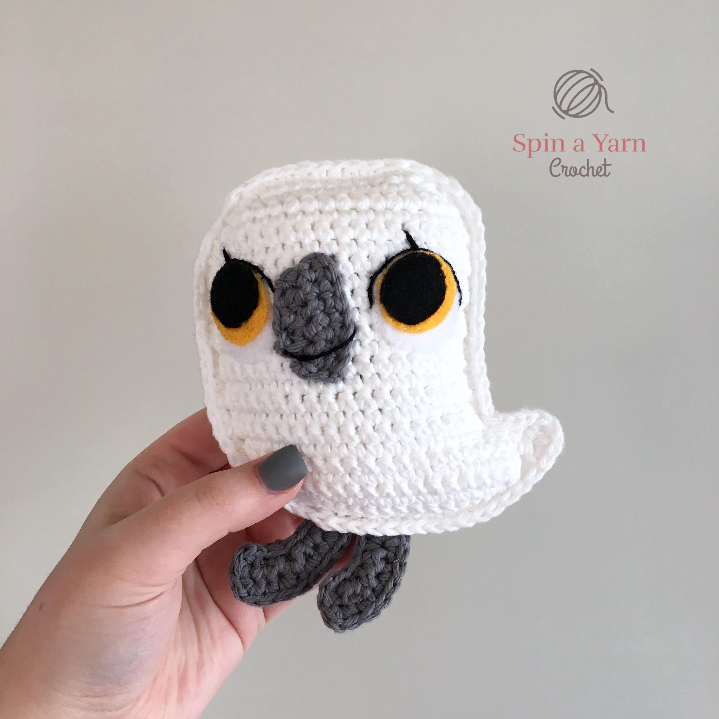 Baba the Baby Puffin Free Crochet Pattern • Spin a Yarn Crochet