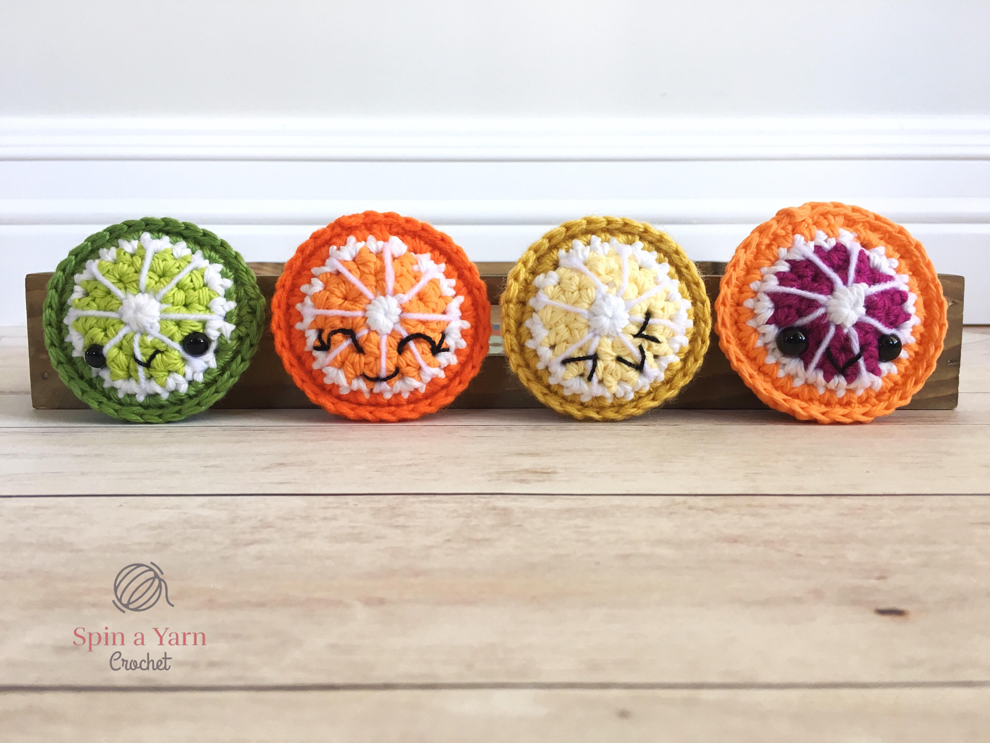Admire These Adorable Fruits And Vegetables [Free Crochet Patterns For All  And The Basket] - Knit And Crochet Daily | 3024x4032