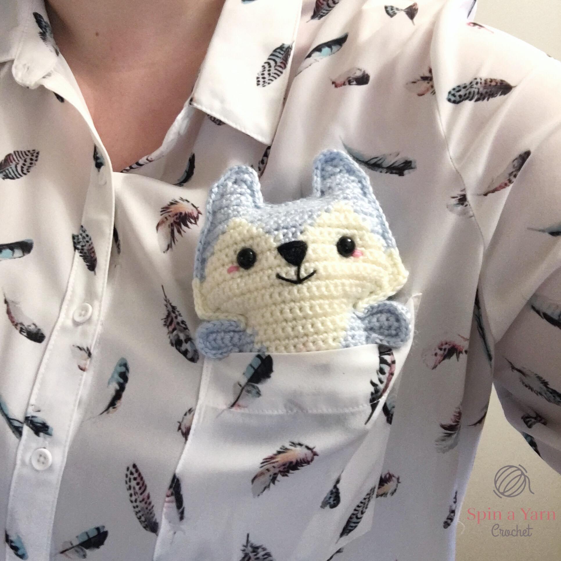 Pocket Fox Crochet Pattern Free | Styles Idea | 1932x1932