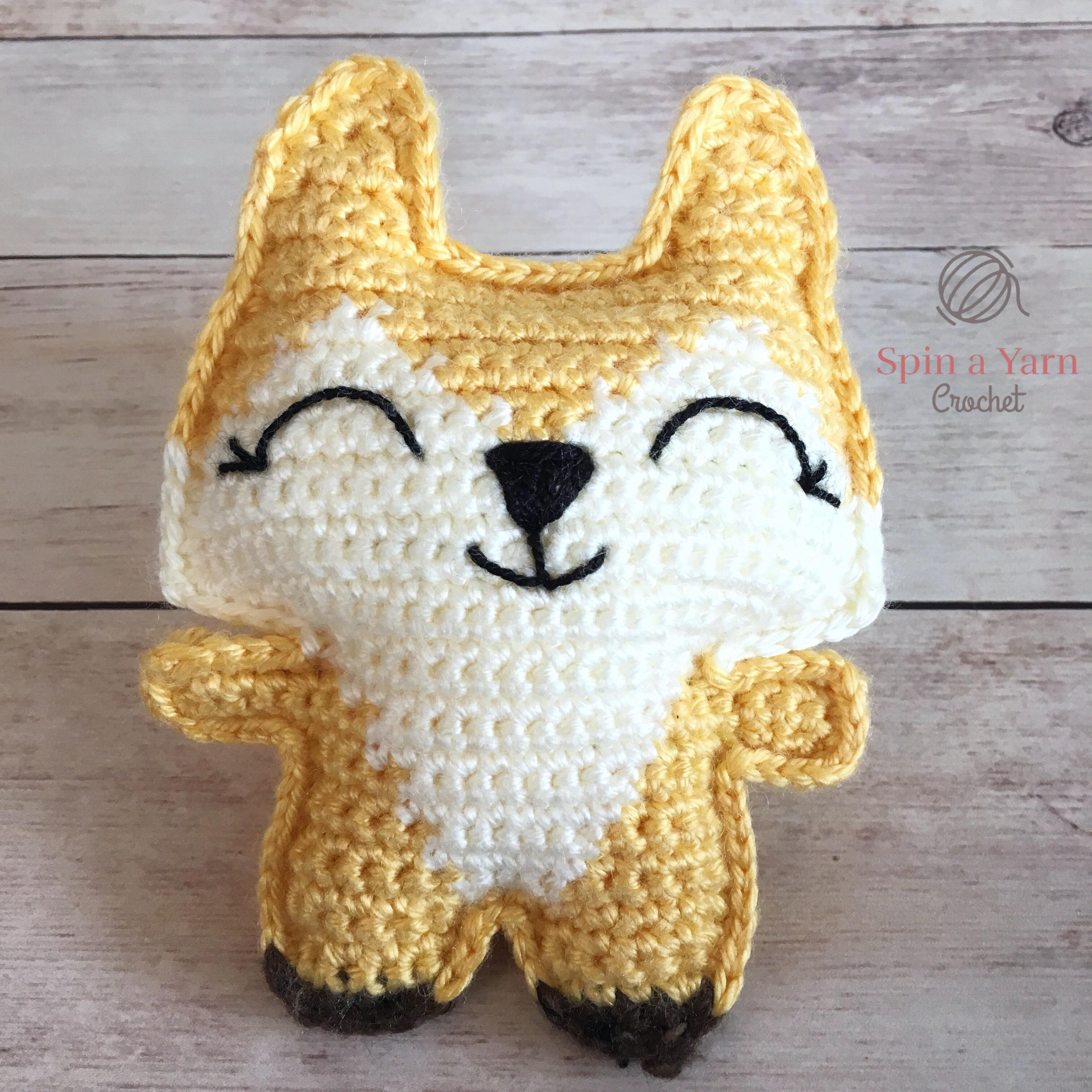 e0bbd4ee2 Pocket Fox Free Crochet Pattern • Spin a Yarn Crochet