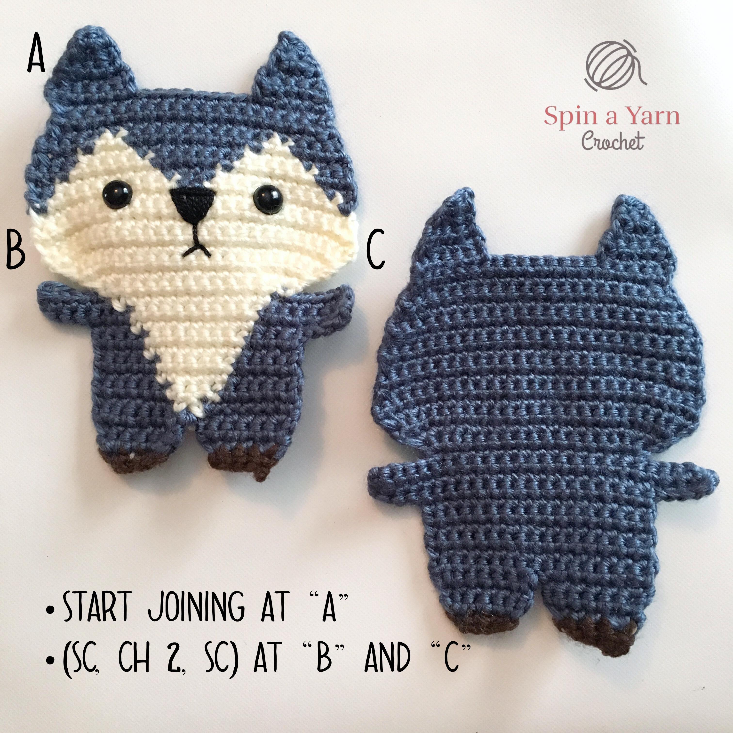 CROCHET toys pdf tutorial by LoopyPattern. Amigurumi squirrel ... | 3024x3024