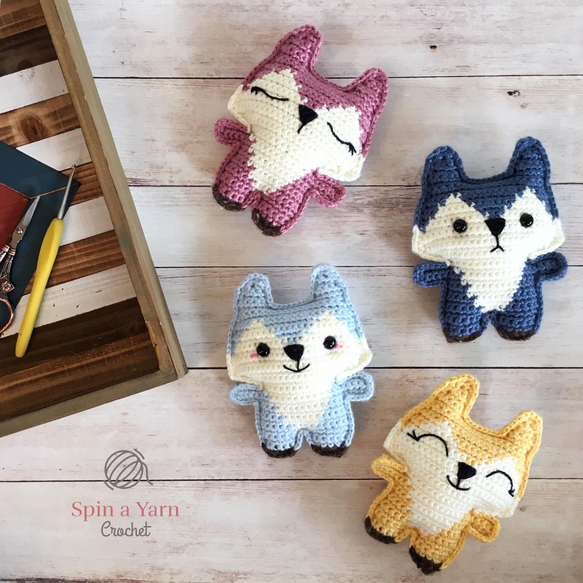 Tiny fox amigurumi pattern - Amigurumi Today | 1951x1951