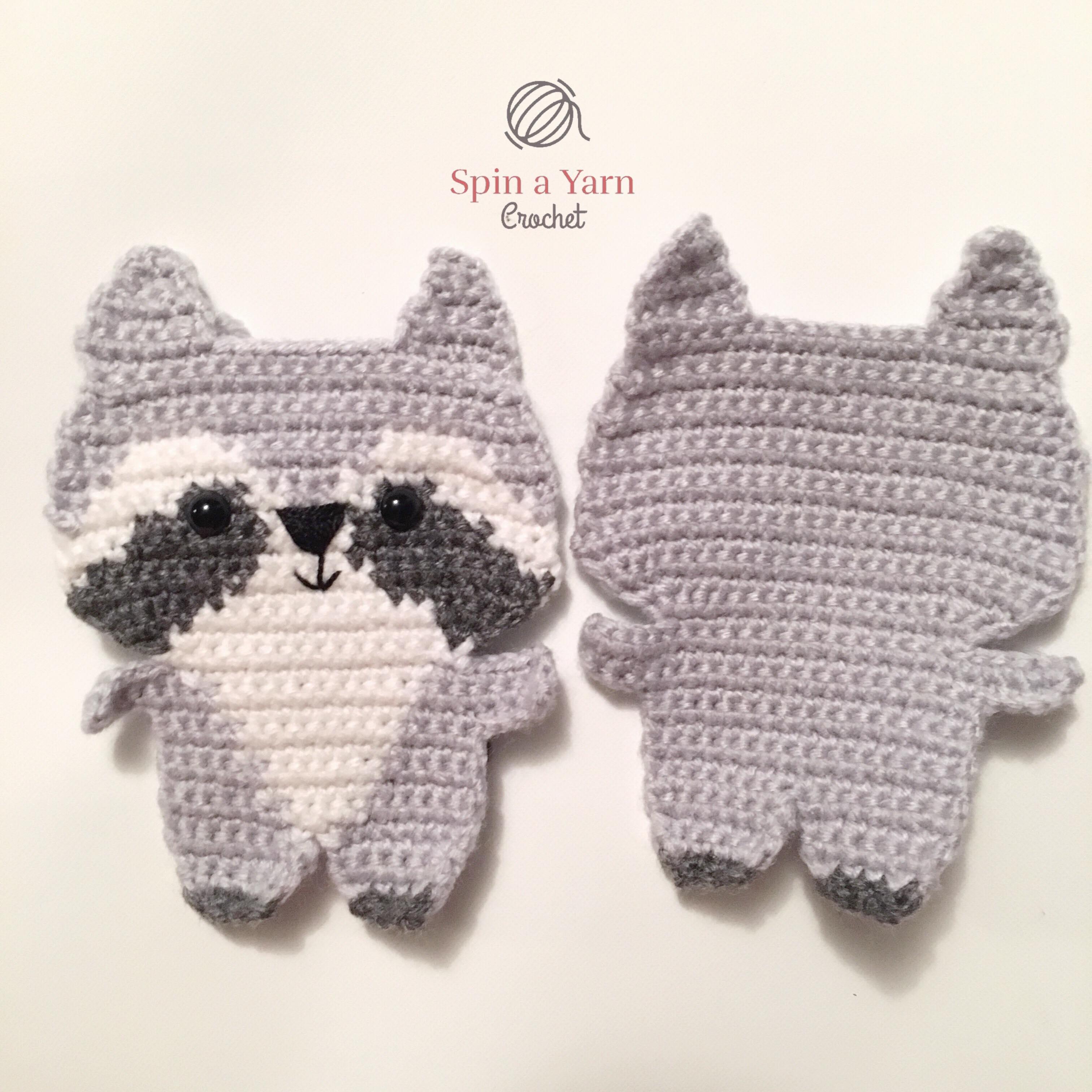 Raccoon Amigurumi, Jr. Rakku - Free Crochet Pattern | Craft Passion | 3024x3024