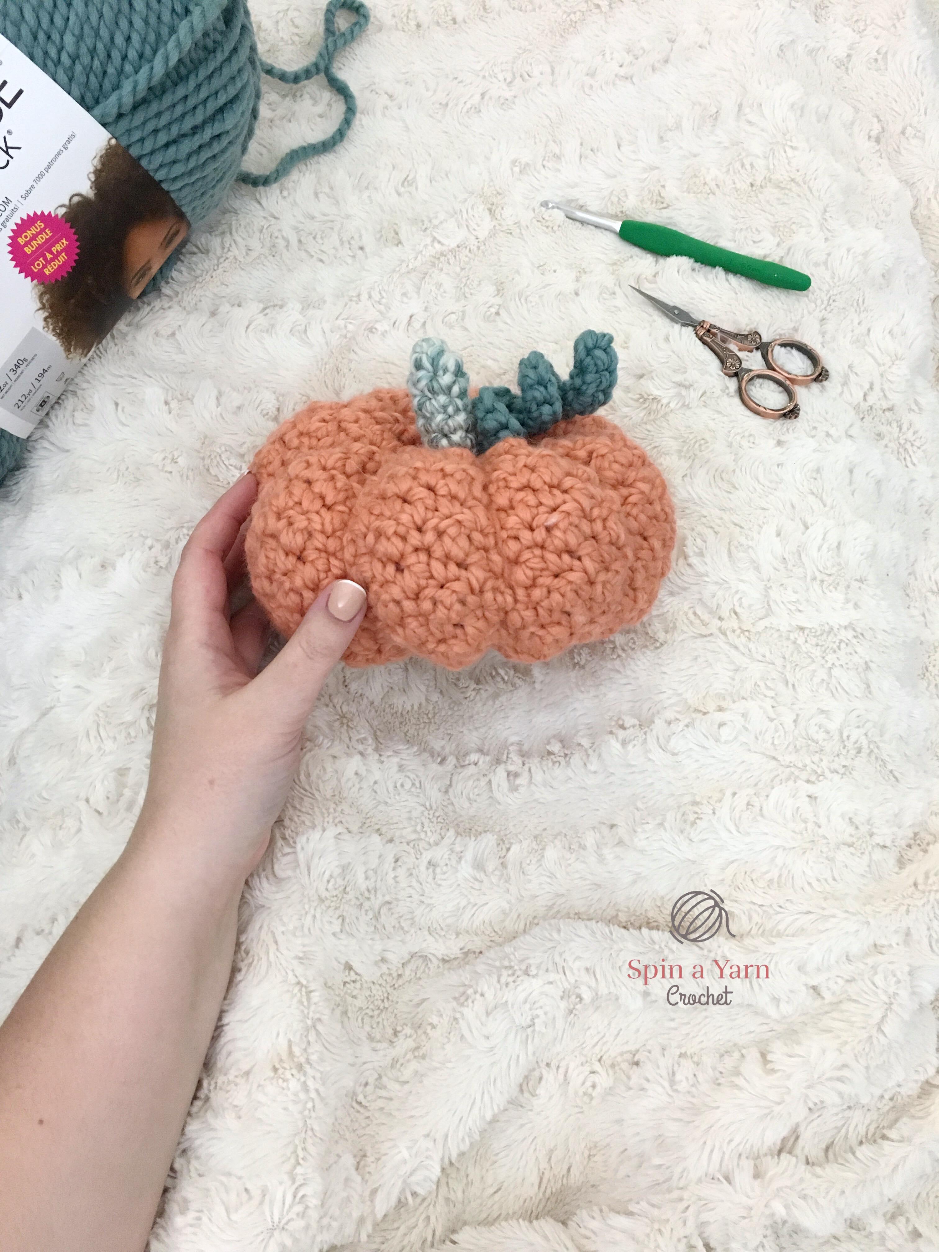 A Gourd Day to Crochet Pumpkins • Spin a Yarn Crochet