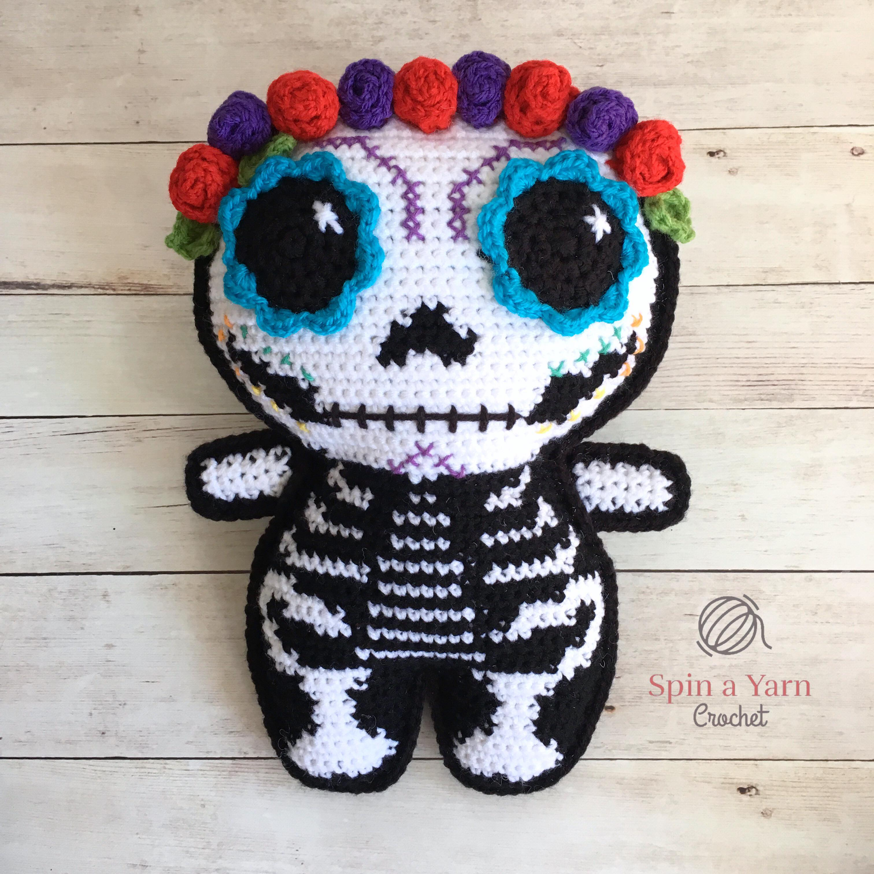 Tooth crochet pattern - free molar crochet pattern | 3024x3024