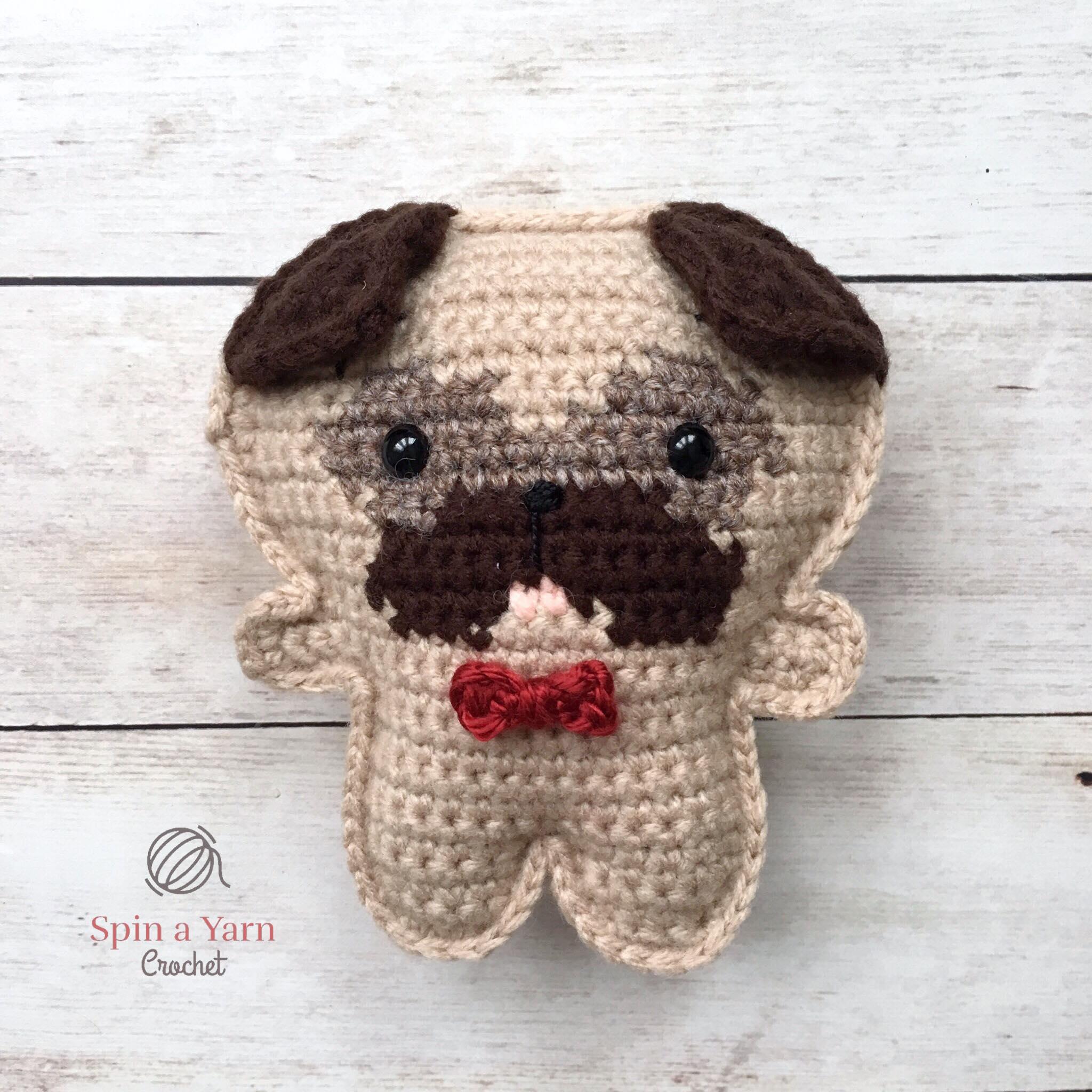 0de5c506584 Pocket Pug Free Crochet Pattern • Spin a Yarn Crochet