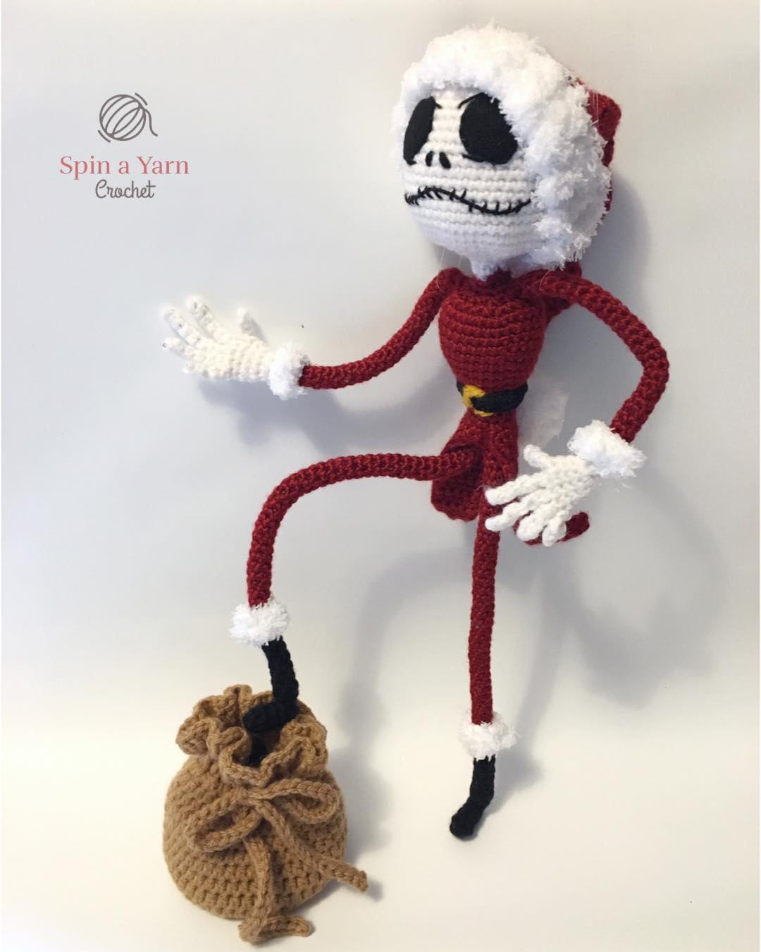 Stuffed Animals & Cuddly Toys Amigurumi Crochet Jack Skellington ... | 1350x1080