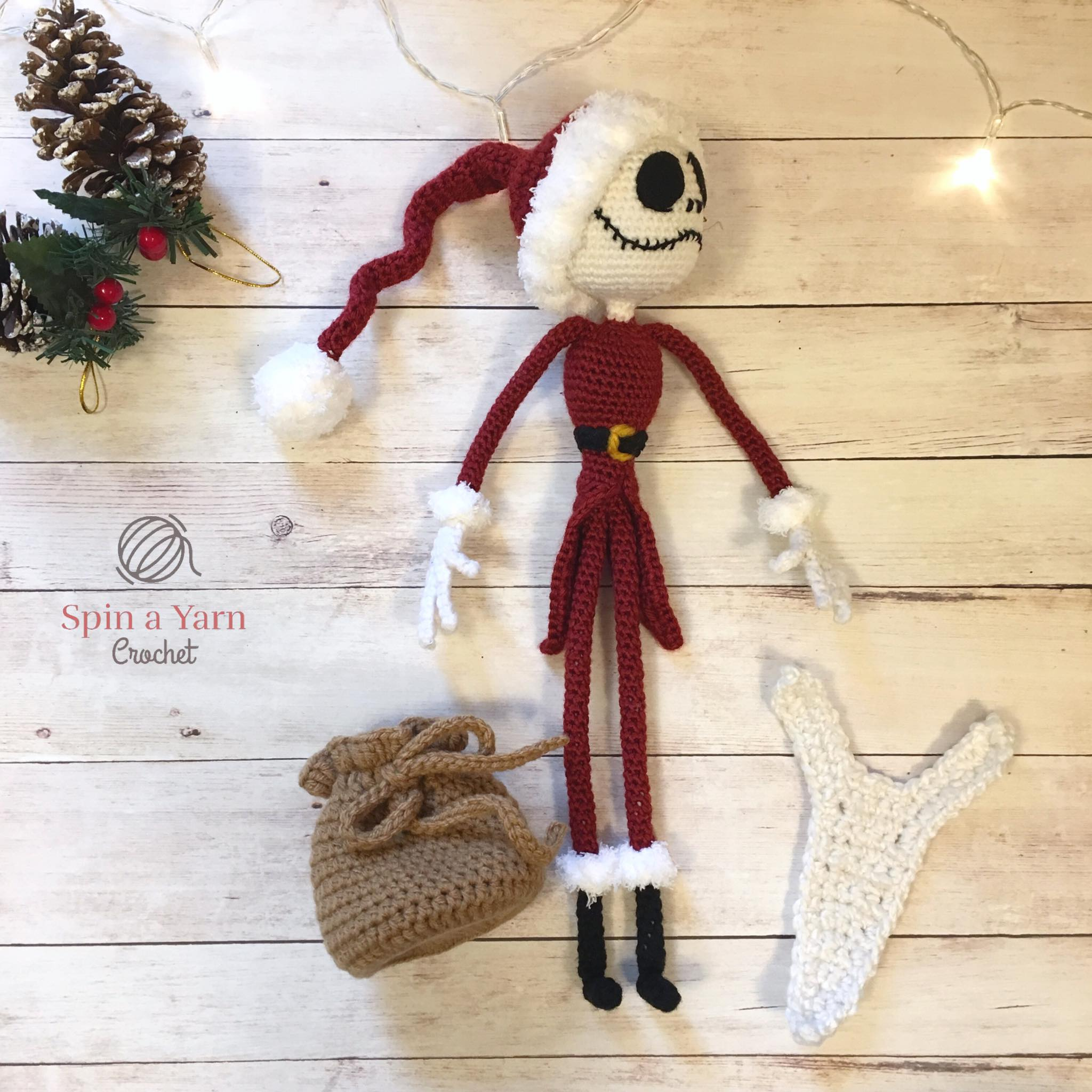 Jack Skellington Free Crochet Pattern Spin A Yarn Crochet
