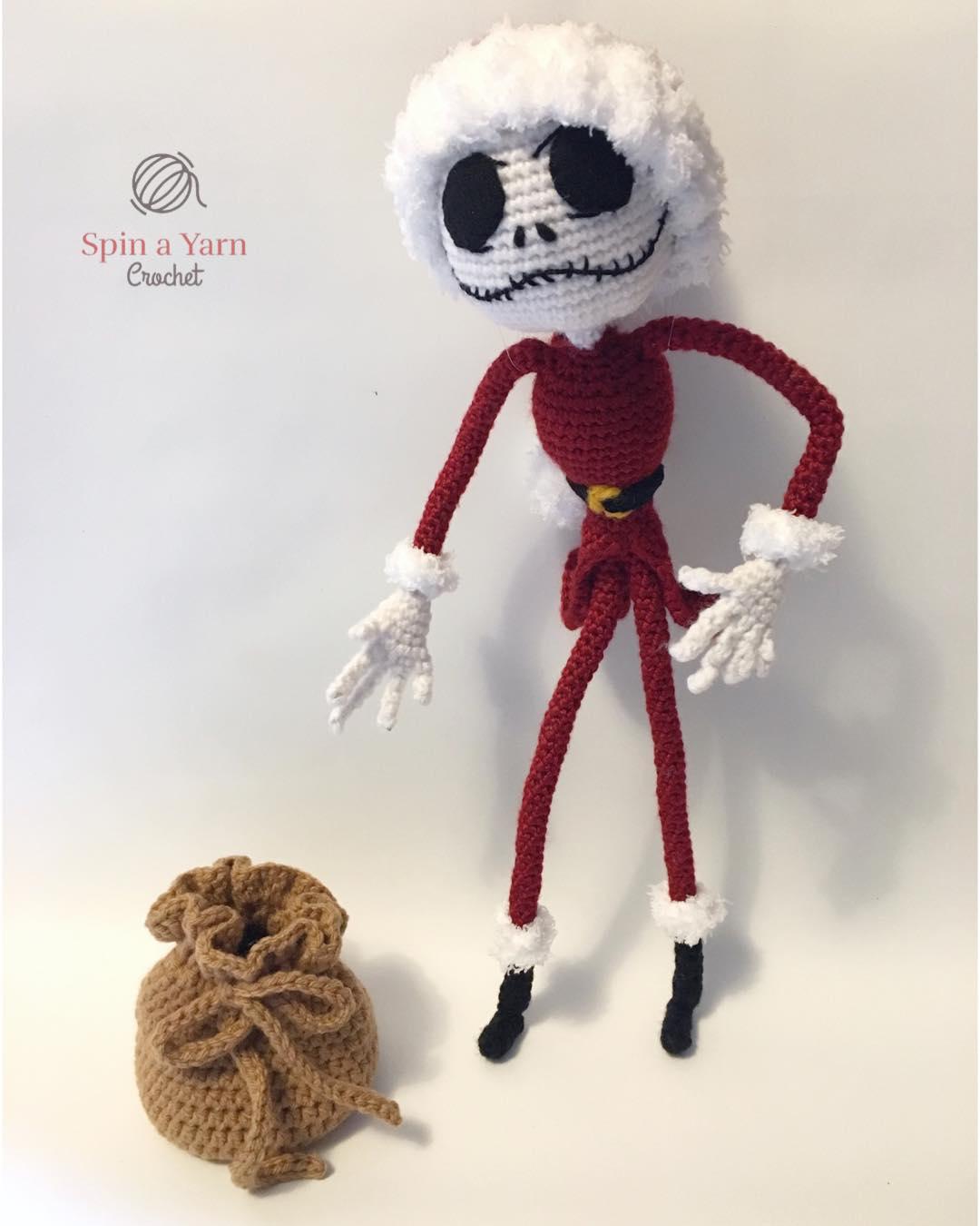 Jack Skellington Free Crochet Pattern • Spin a Yarn Crochet | 1350x1080