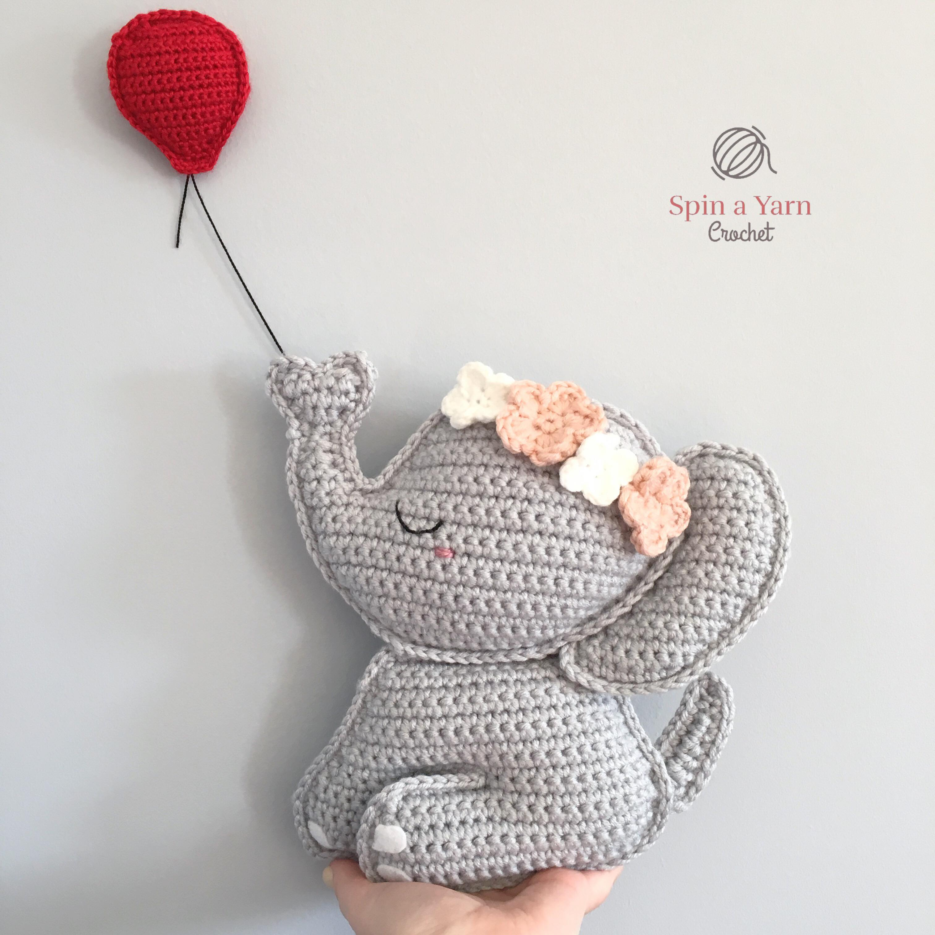 Crochet Elephant Softie and More Free Patterns Tutorials | 3024x3024
