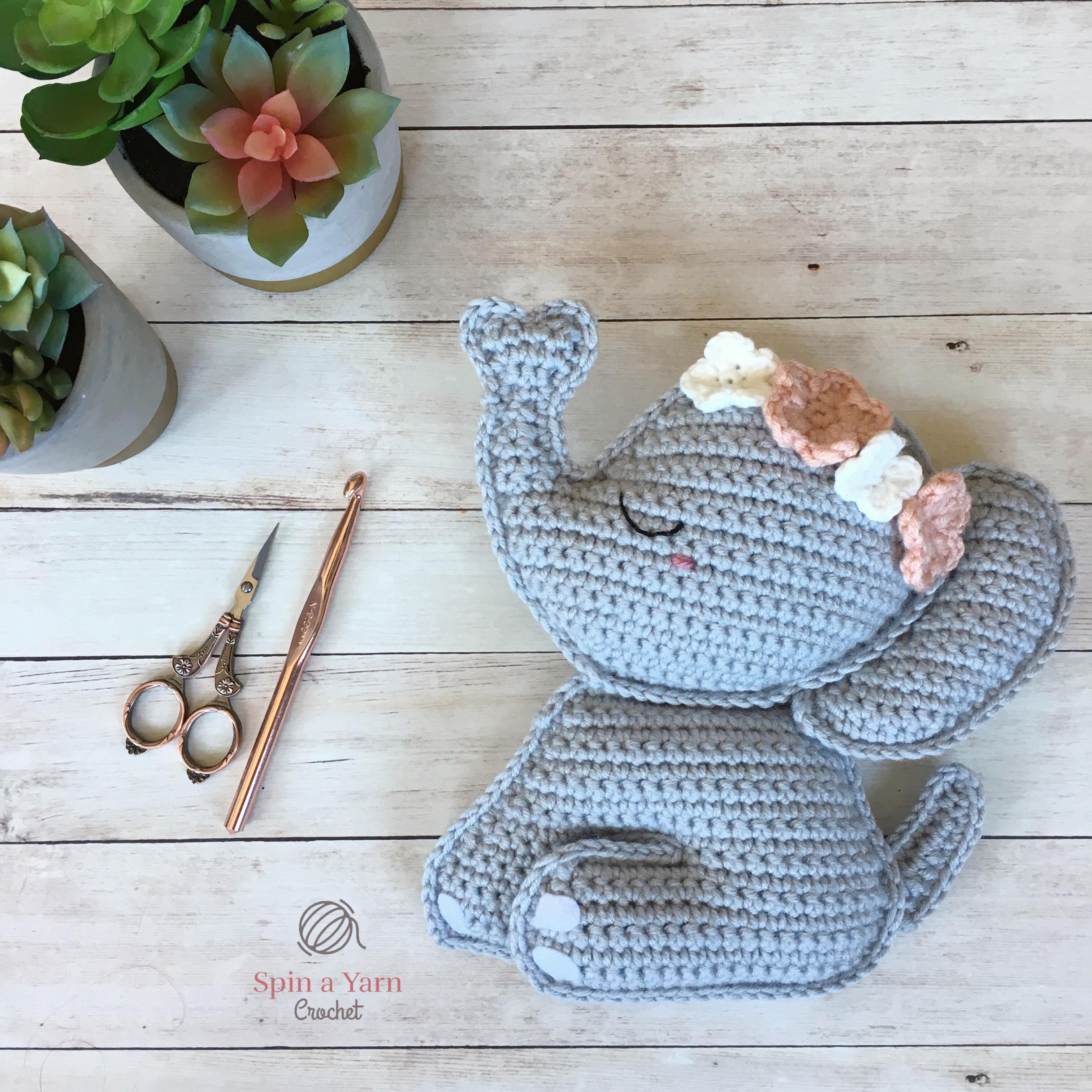 crochet elephant amigurumi - YouTube   3024x3024