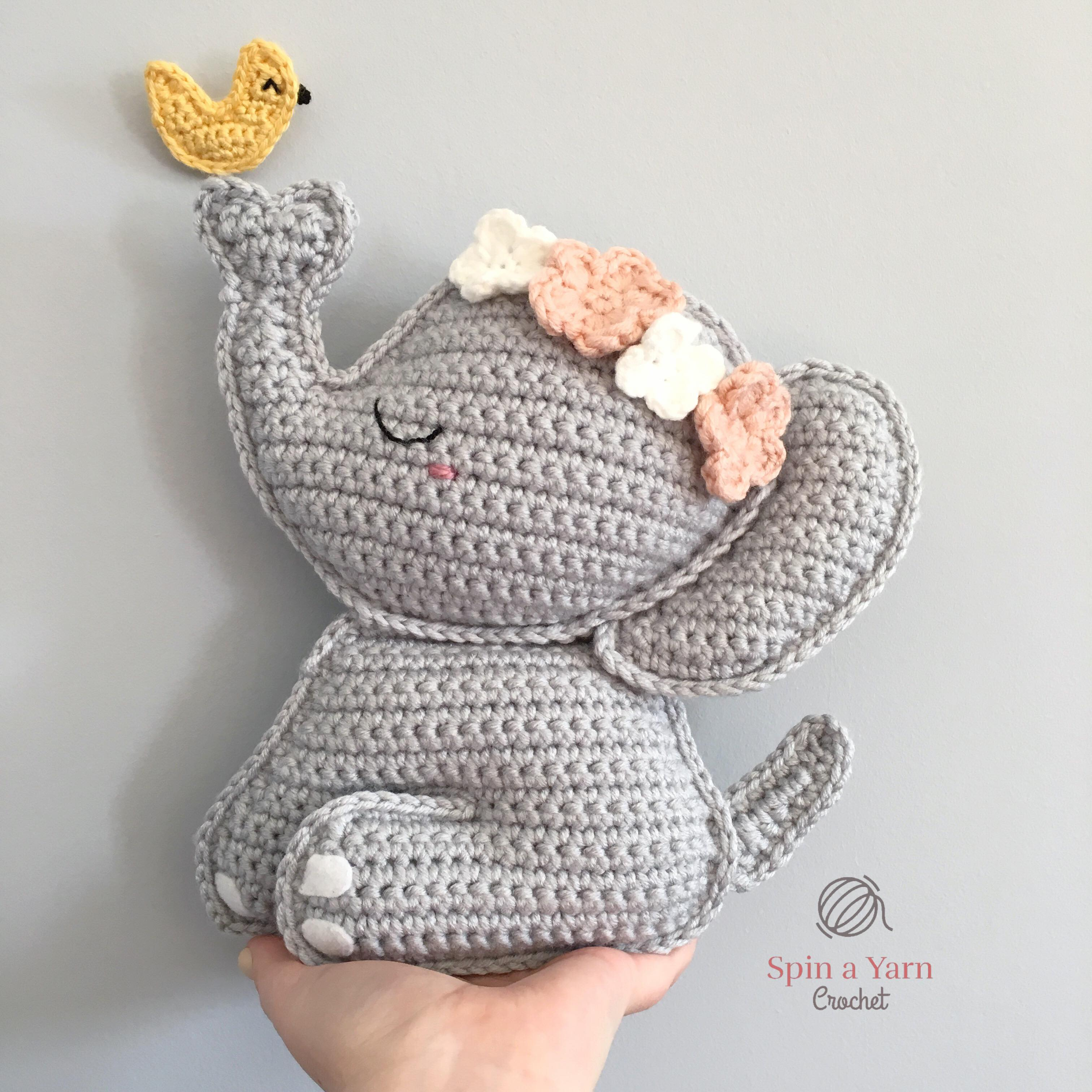 Amigurumi Elephant crocheted. Pattern. Detailed tutorial. Elephant ... | 3024x3024
