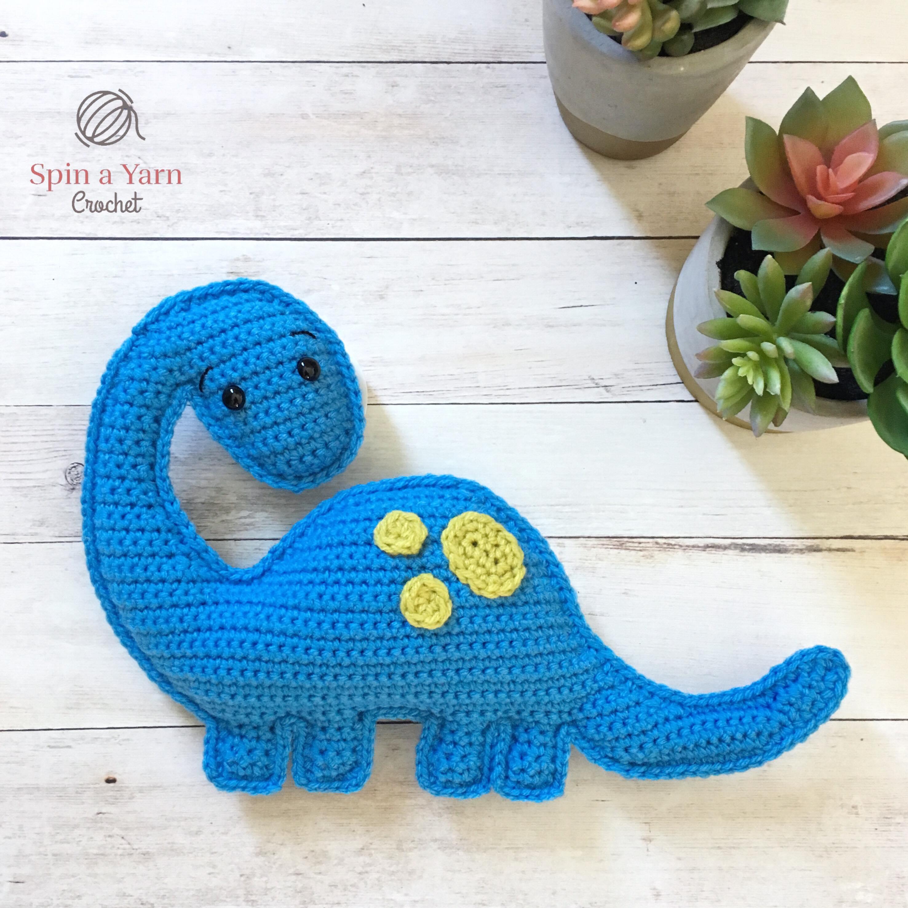 Brachioaurus Free Crochet Pattern • Spin a Yarn Crochet