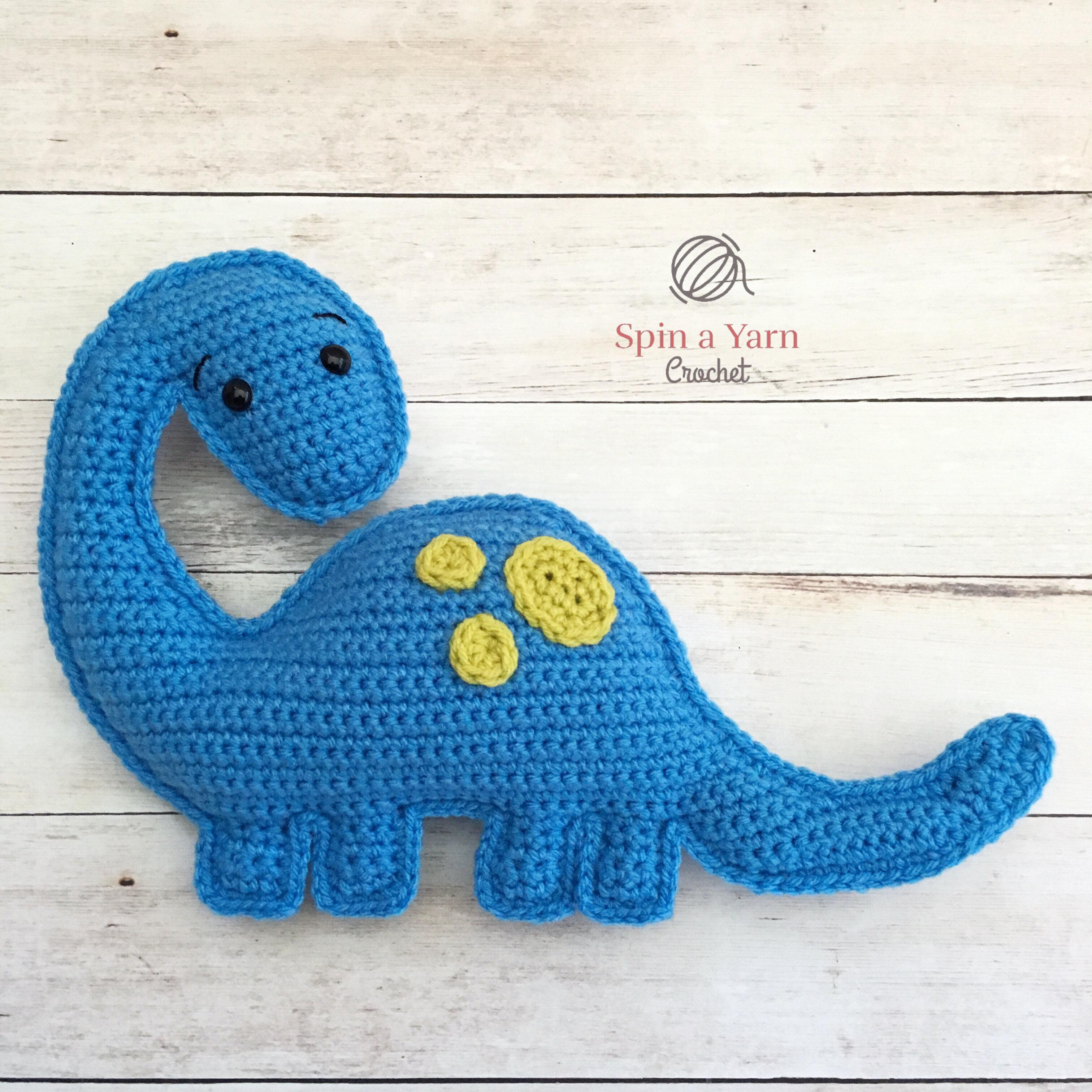 Tiny Dinosaur Amigurumi - Free Pattern | Crochet patterns ... | 3024x3024