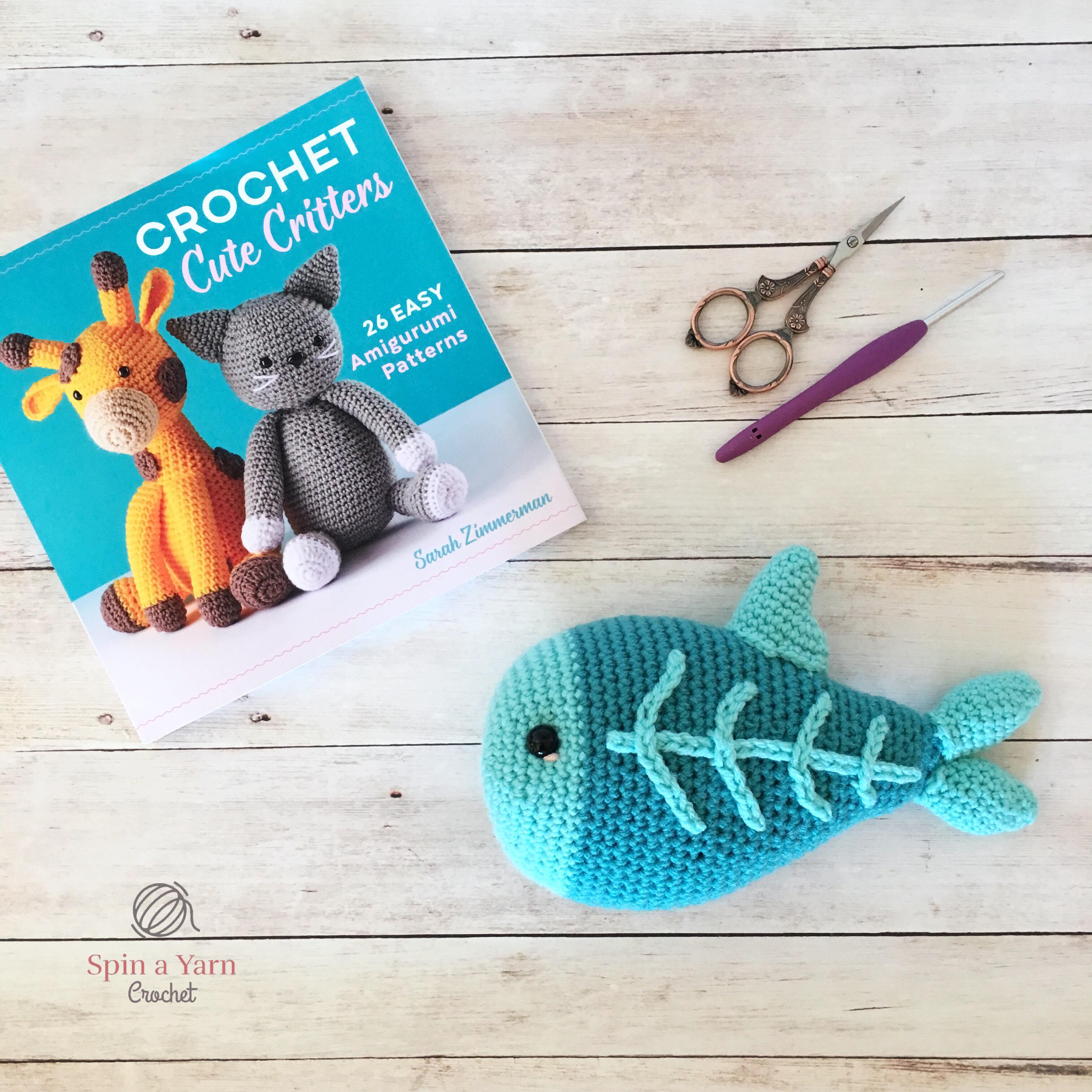 Crochet Fish Amigurumi: Clownfish - Free and quick pattern   3024x3024