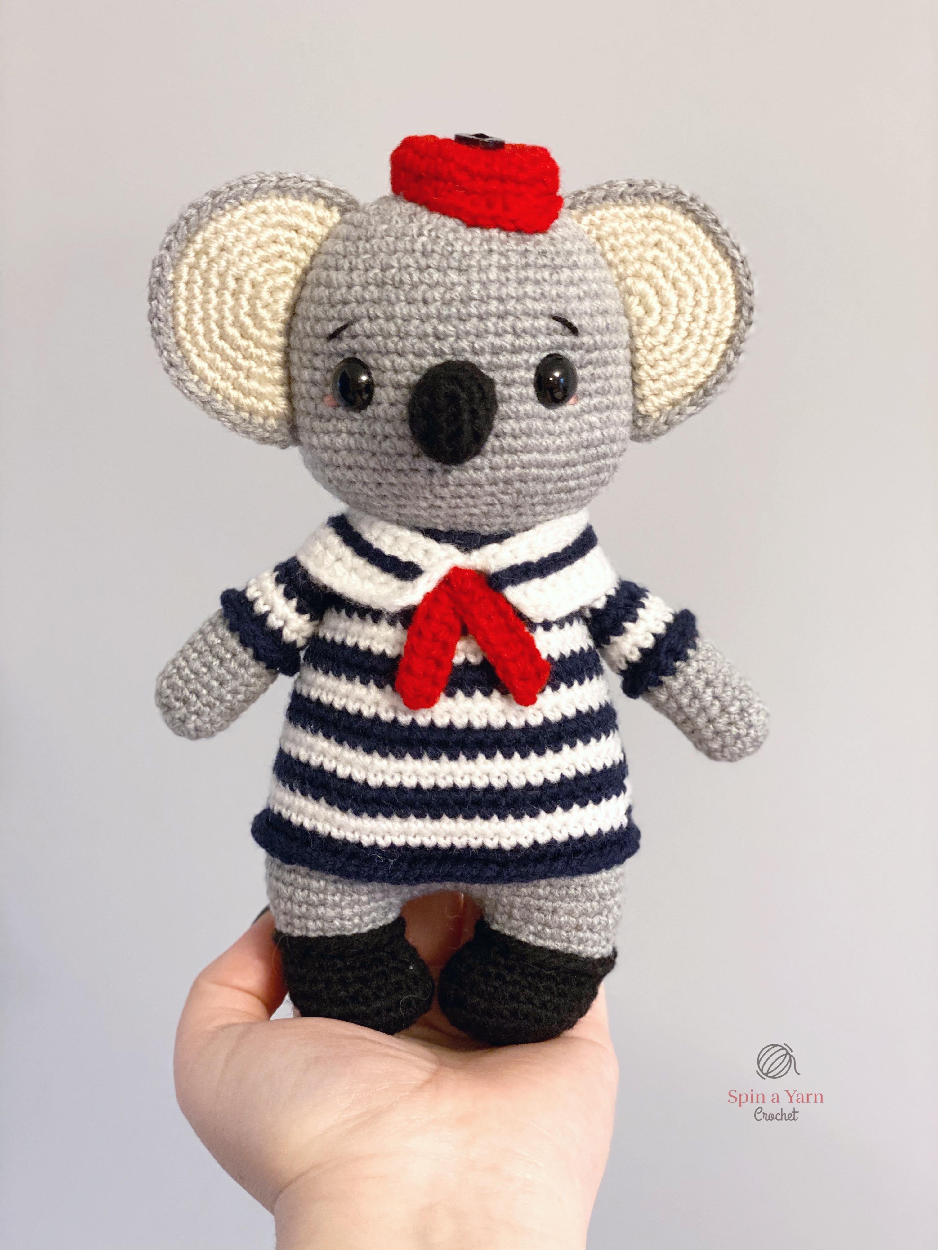 Koala mother and baby, amigurumi crochet pattern - YouTube | 4032x3024